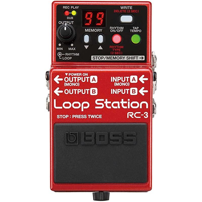 보스 RC 3 루프 스테이션 및 보스 PSA 120S2 전원 공급 장치, 상세페이지 참조