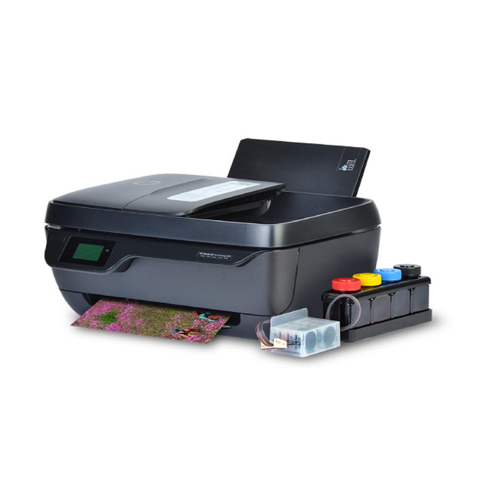 HP 3833 무한잉크복합기 잉크젯 프린터 팩스복합기, HP3833 무한잉크 팩스복합기 600ML 완제품