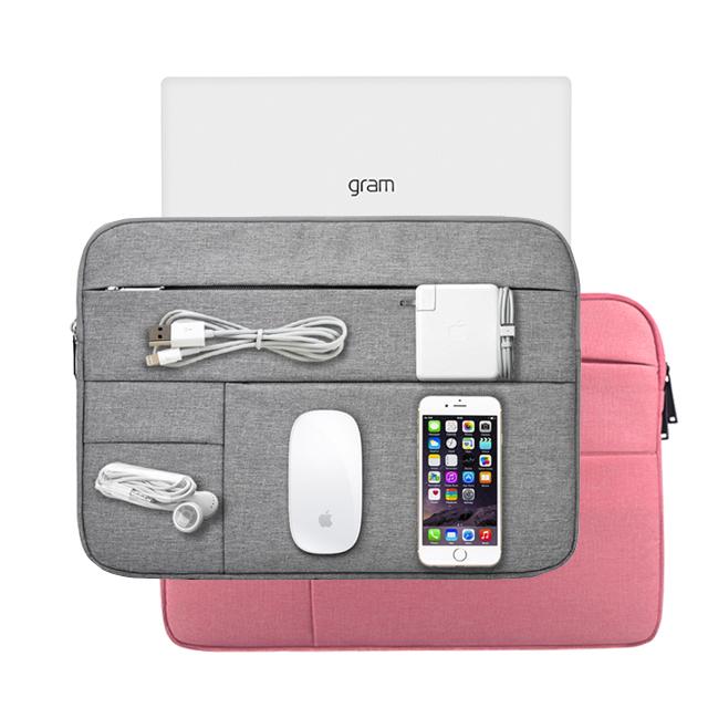 포켓 LG 그램 노트북 파우치 14인치 15인치 17인치, 그램17 블랙