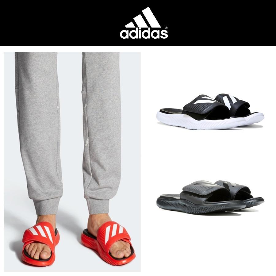 Adidas 아디다스 알파바운스 맨즈 슬라이드 남성 슬리퍼 BA8775