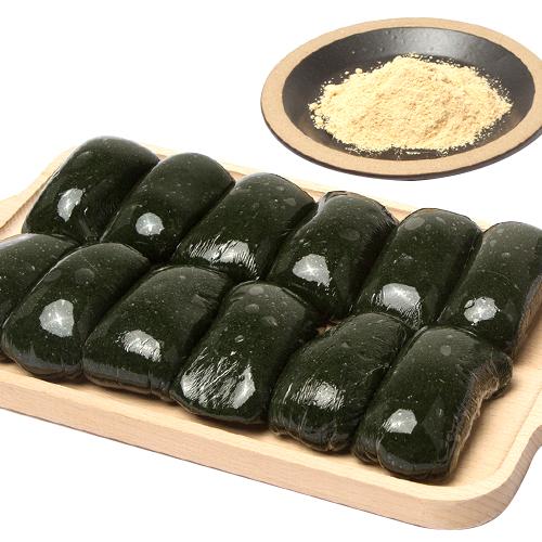 진맛 완주에서 만든 국산 쑥떡 인절미(콩고물 포함) 2kg 4kg, 1box