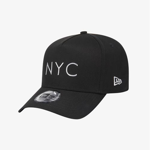 [뉴에라][공용]K프레임 NYC TPU 볼캡 실버 블랙 (12359593)