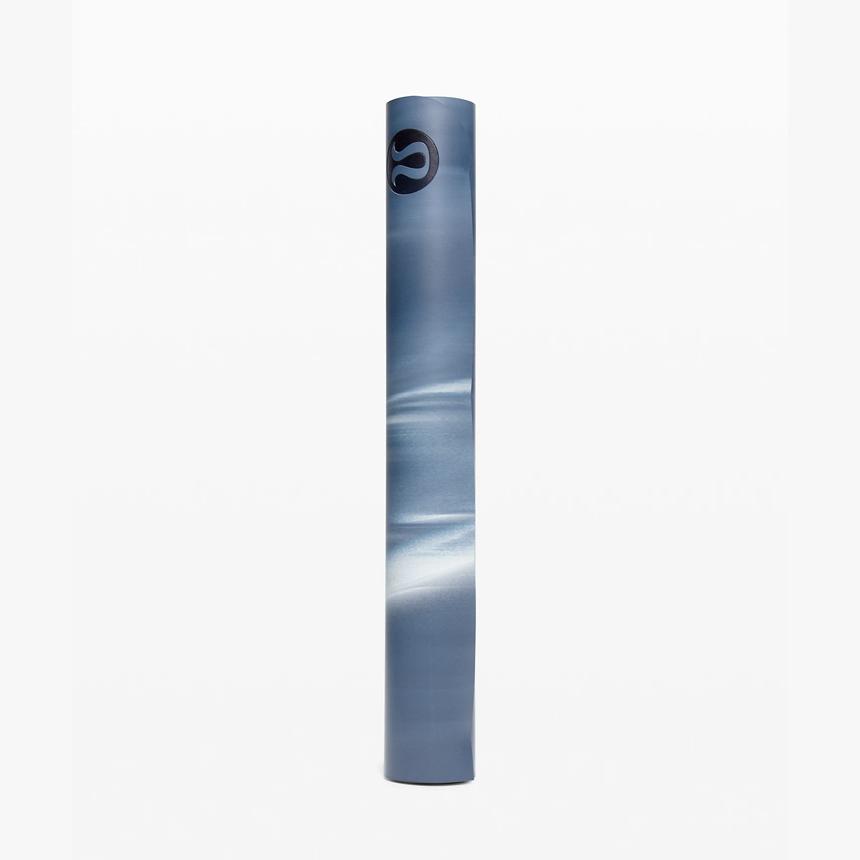 룰루레몬 리버져블 3mm 요가매트 5종 밀리지않는 밸런스 홈트 층간소음 이효리운동매트 핏, 선택4: Slate Blue