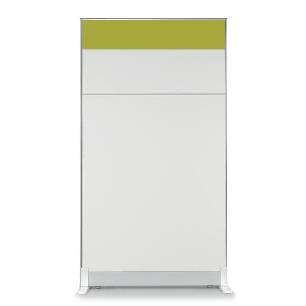 더인파티션 45T PVC 컬러 파티션 사무실 파티션/사무용 칸막이, 높이1800파티션-그린(PCPG-GW)