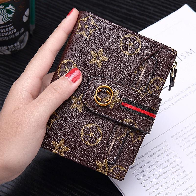 [해외 직송]뉴타임즈17 여성반지갑 트렌디한 도카키 나염프린트 레더 쇼트 미즈 지갑 지갑 미즈 ST32 A17