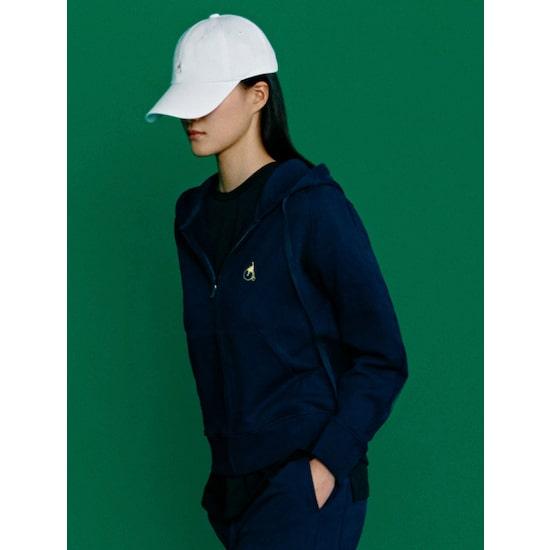 [GREEN BEANPOLE] 네이비 솔리드 후드 집업 티셔츠 (BF1141N02R) (POP 4947104601)