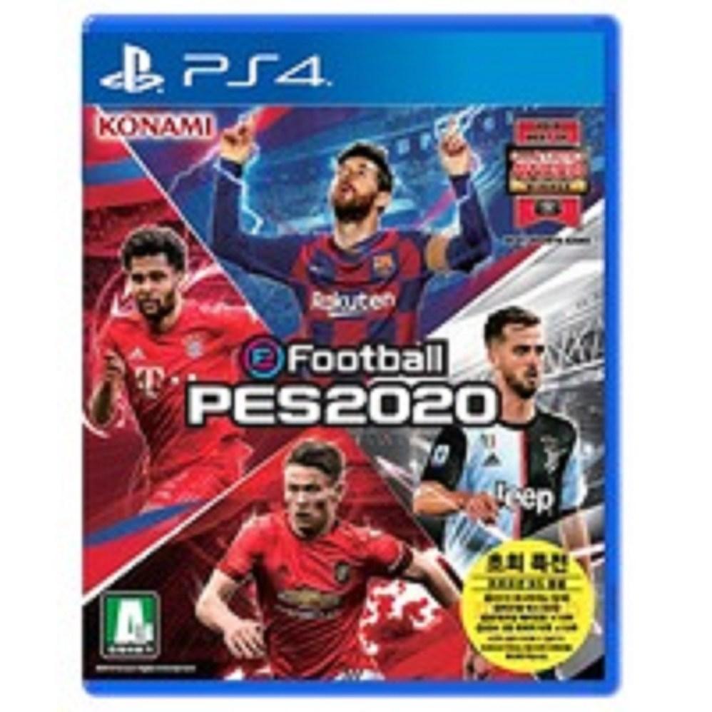 PS4 위닝일레븐 2020 PES2020 한글판+3개월psn 새제품