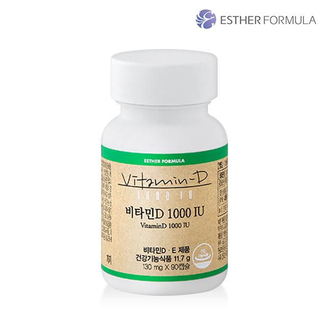 에스더포뮬러 여에스더 프리미엄 비타민 비타민D 1000IU, 단품