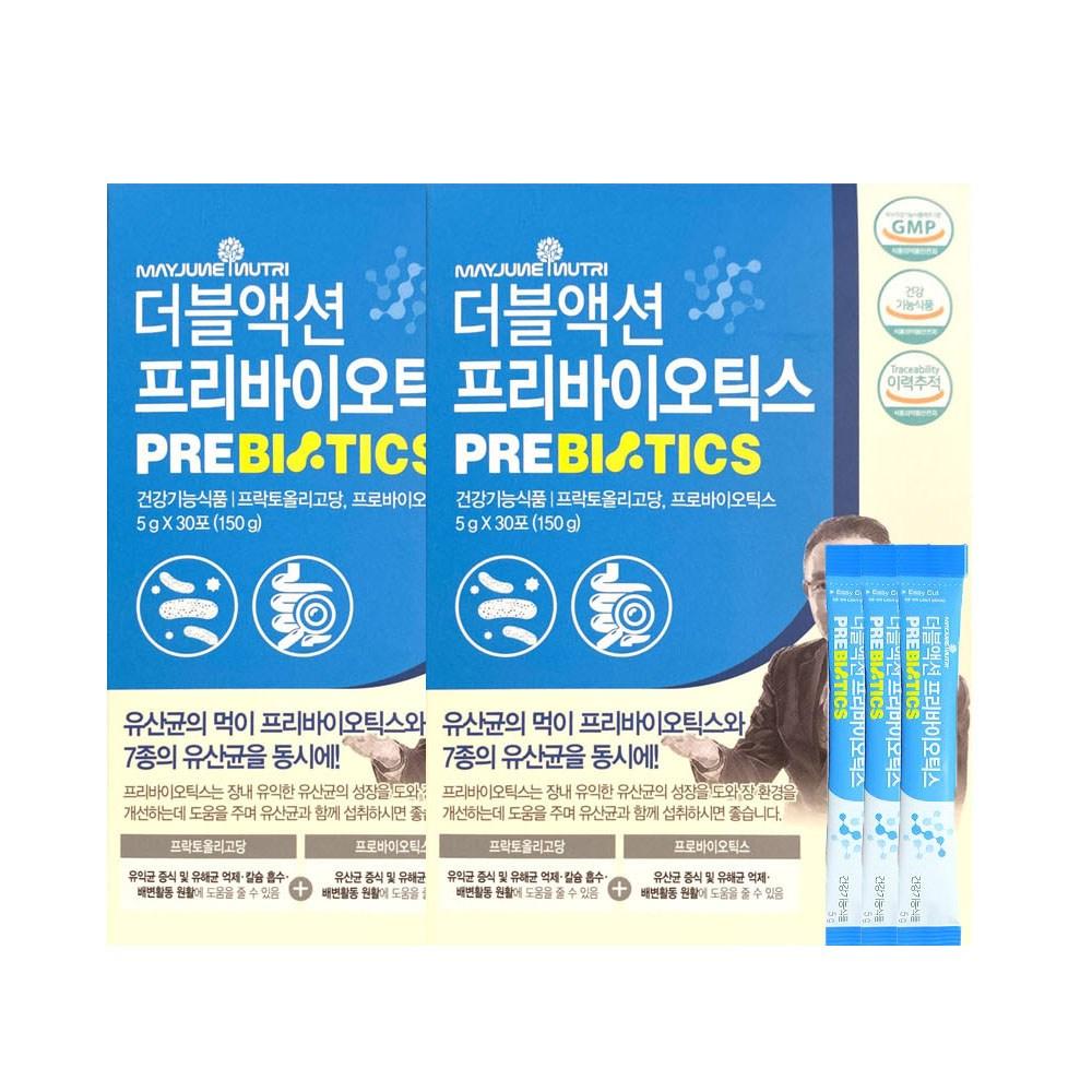메이준뉴트리 이승남 더블액션 프로바이오틱스 5g x 30포, 2개