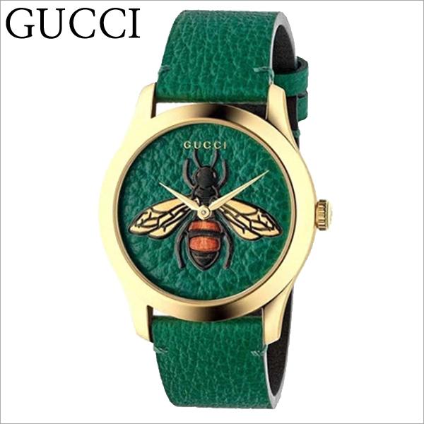 GUCCI YA1264065A 구찌시계 남녀공용 G-Timeless 꿀벌 가죽시계