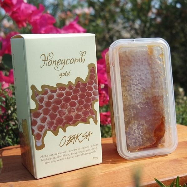 오박사허니콤 산들꽃벌집꿀 250g, 1개
