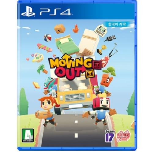 무빙아웃 PS4 한글판 액션