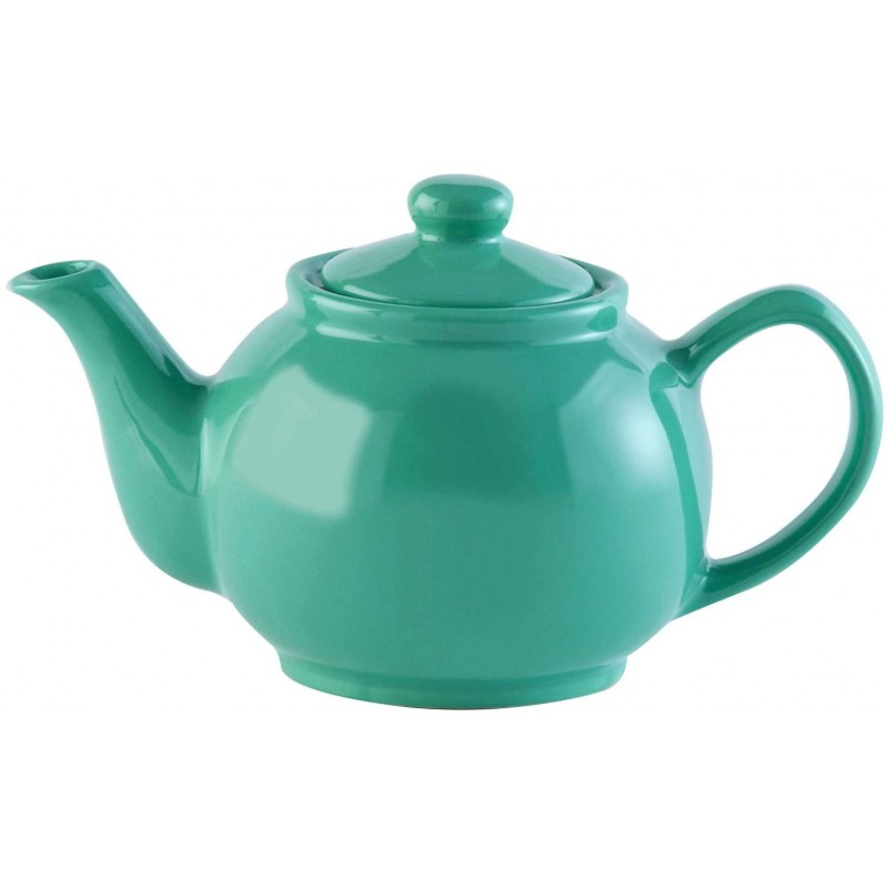 가격 & 켄싱턴 2 컵 주전자 토기 비취 녹색 빛나는, 단일상품