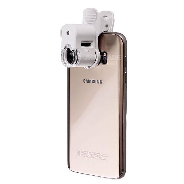 쓰리피 60x 고배율 스마트폰 현미경, 1개, 스마트폰현미경(실버)