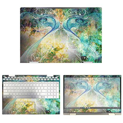 decalrus Protective Decal Butterfly Skin Sticker for HP ENVY/13641281, 상세내용참조