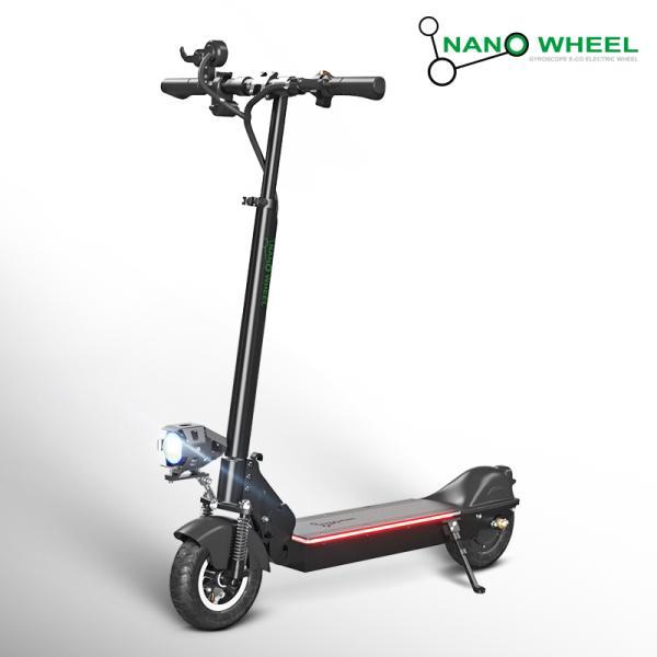 나노휠 [나노휠] 전동킥보드 NQ-01 Plus+ 프리미엄 10.4Ah, 블랙/배터리 (70Km/21Ah 배터리), 블랙 70km 21Ah배터리