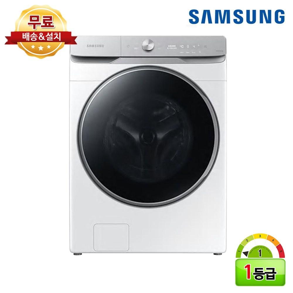 삼성전자 그랑데 AI 세탁기 1등급 21kg WF21T9500KW 삼성물류 무료설치