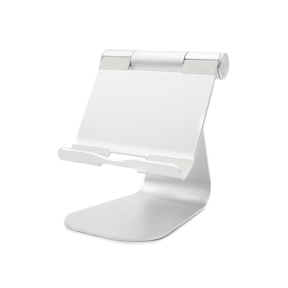 BiLe 아이패드 프로 4세대 12.9 알루미늄 접이식 태블릿 거치대, 1개, BiLeBT914-실버-19-4576537230
