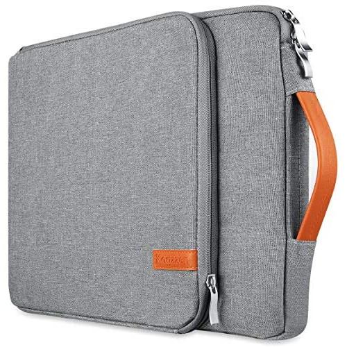 노트북 파우치 Kogzzen 11 11.6 12 Inch Laptop Sleeve Tablet Case Compatible with MacBook 12&quot/ MacBook Air 11.6&quot/ Surface Pro Waterproof Notebook, Size = 15-16 | Color = Grey.