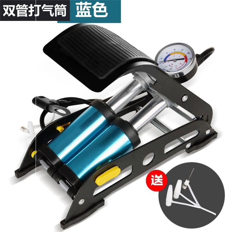 자전거펌프 자전거 자동차 펌프 차량용 작은사이즈 통용버전 구원 실외, T05-업그레이드 스페이스알루미늄 쌍동이 정확한 표청