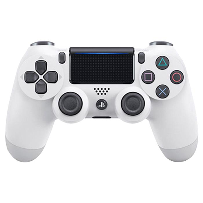 소니 PS4 듀얼쇼크4 무선 컨트롤러 글레이셔 화이트, CUH-ZCT2G 13, 1개