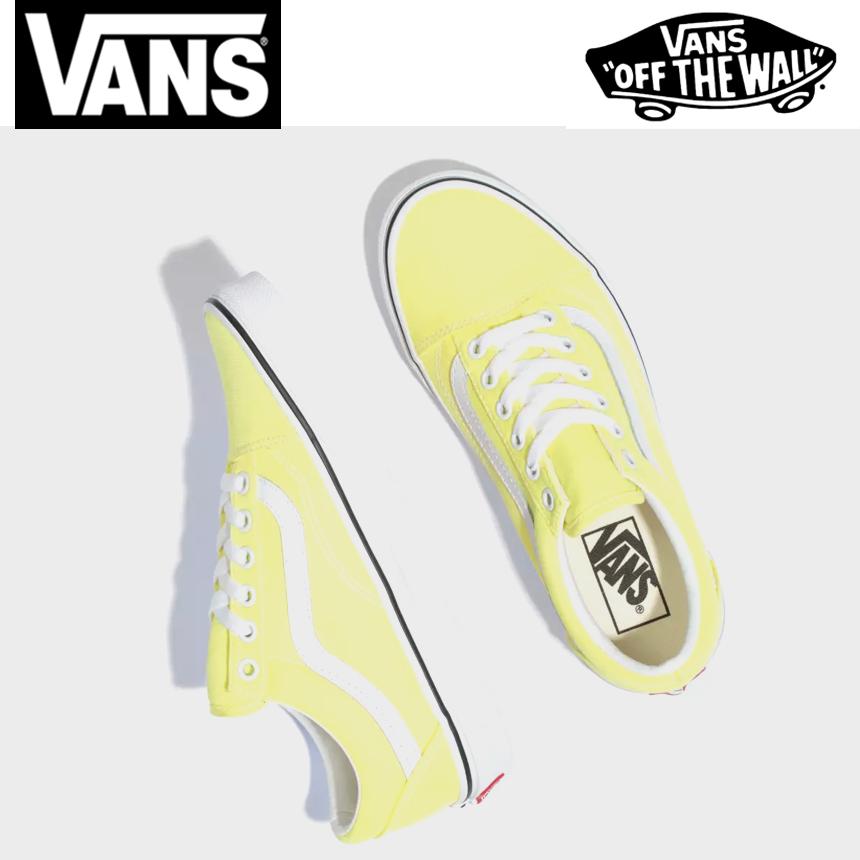 [미국정품] 283706 반스 남여공용 슬립온 스니커즈 Vans Neon Old Skool - U3BWT7