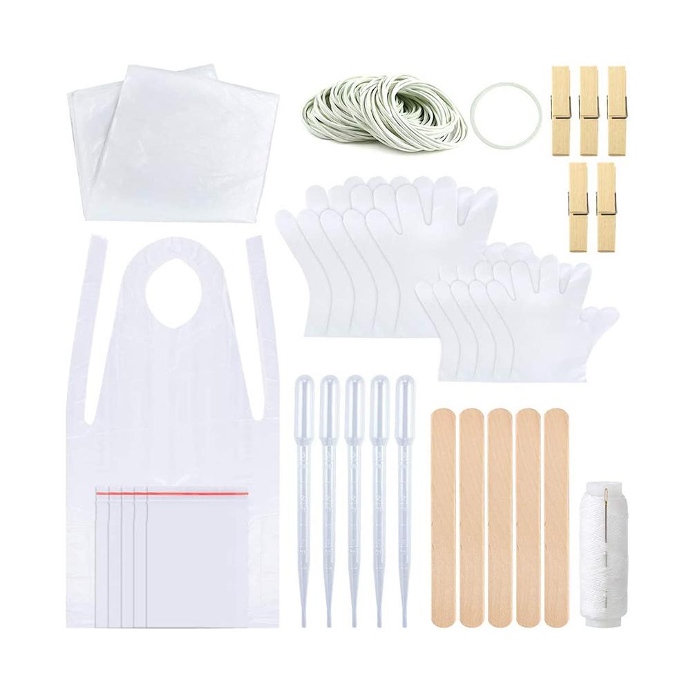 타이다이 염료 물감 이염 방지 보호 도구 키트 셀프 DIY, 단일상품