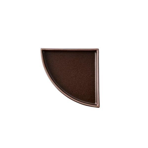 [갤러리아] 오덴세[오덴세] 레고트 1/4 원형 접시, 바닐라크림