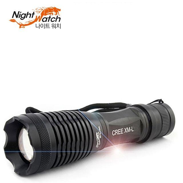 더나은 충전식 LED 후레쉬 SP2000L No1 등산 랜턴 낚시 FF$