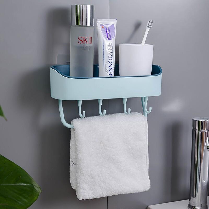 새로운 주방 욕실 선반 다목 적 거실 세련 된 욕실 수납 정리 선반