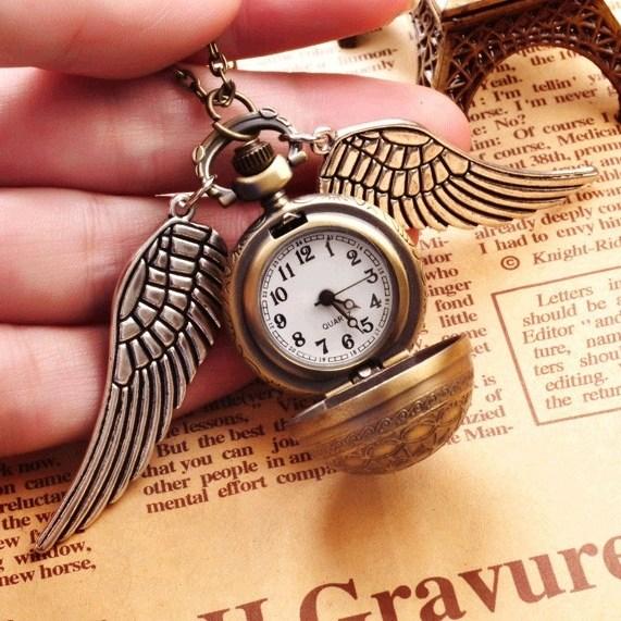 해리포터 스니치 엔틱 레트로 포켓 패션 워치 와치 회중 시계 다용도 인테리어 소품