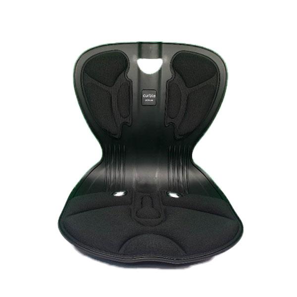 에이블루 커블체어 컴피 허리받침 자세교정 최신제품 색상선택(블랙 그레이 레드 중 택1), 블랙