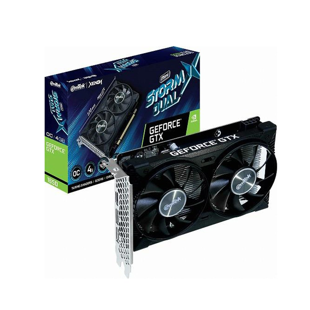 이엠텍 XENON 지포스 GTX 1650 STORM X Dual MINI OC D6 4GB 그래픽카드