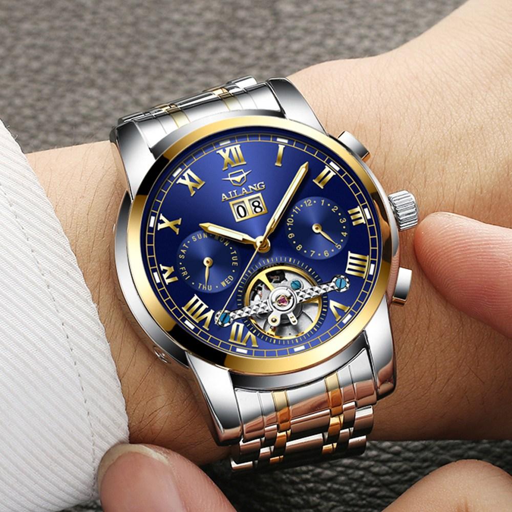 바바존 남자시계 명품시계 오토매틱시계 남성시계 메탈시계 손목시계 05