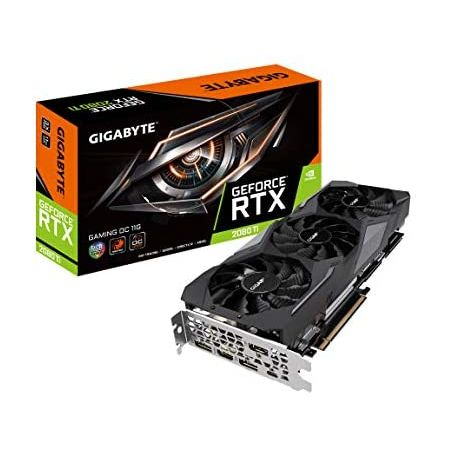 [아마존베스트]GIGABYTE GeForce RTX 2080 Ti Gaming OC 11GB Graphic Cards GV-N208TGAMING OC-11GC, 상세 설명 참조0