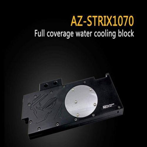 [해외] AZCH 커버 그래픽 카드 물 냉각 블록 AZSTRIX1070 ASUS ROG STRIX GTX1070 GTX1060, 상세내용표시