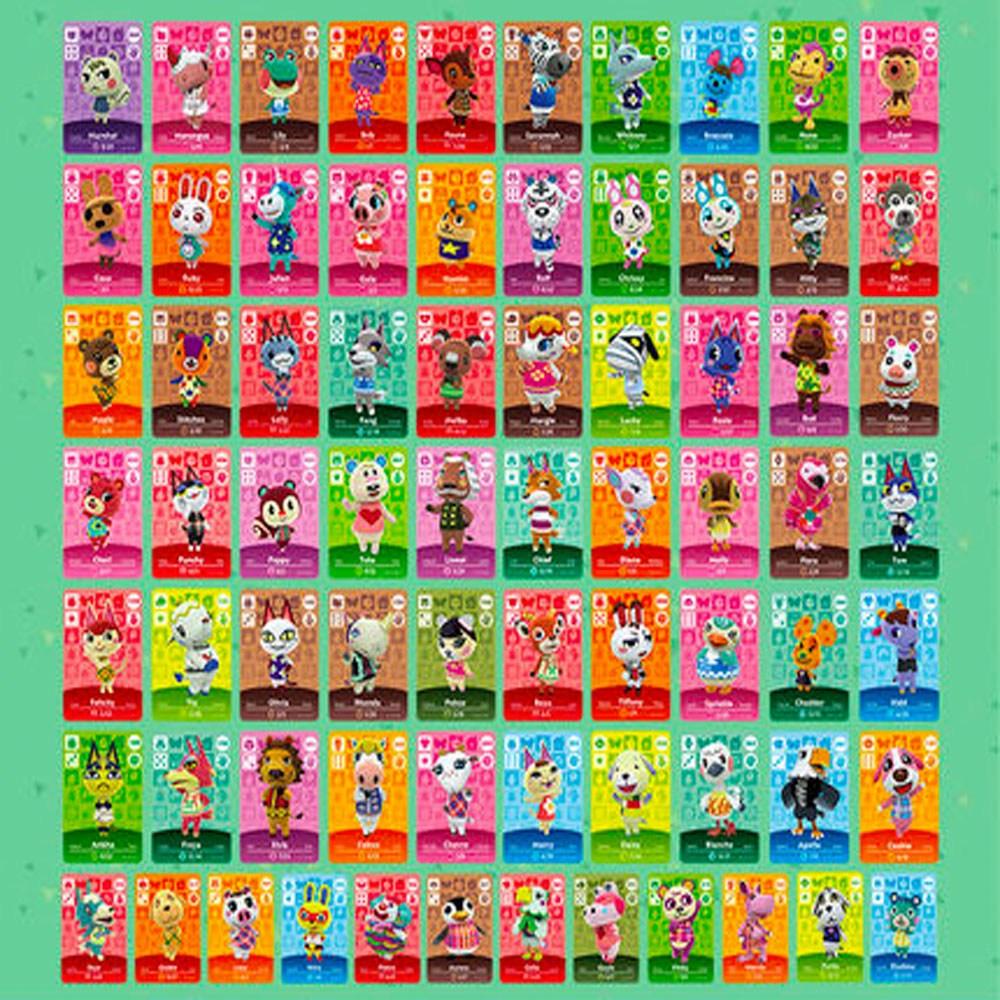 [호환품] 모여봐요 동물의 숲 아미보 카드 24 72 50종 모음, 72개입, 옵션 2: 72종 카드세트