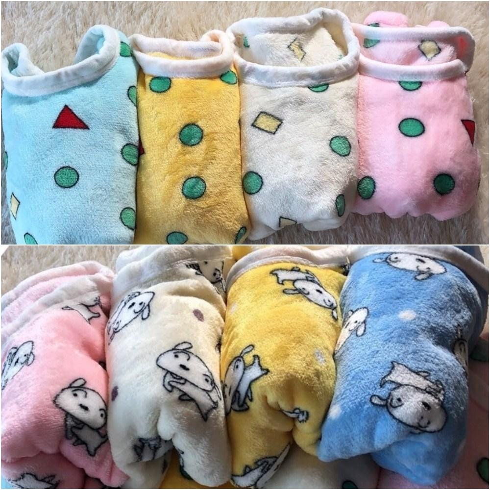 [언니카페] 보들보들 아동 밍크 짱구잠옷 극세사 짱구잠옷