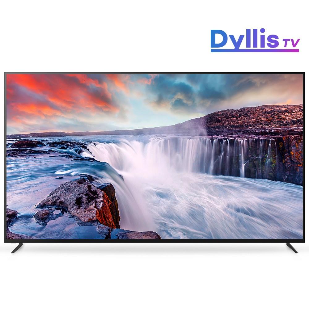 다이아옐로 (사은품 증정) 딜리스 티비 대기업패널 4K UHD 86인치 TV TIS-860U, 스탠드형