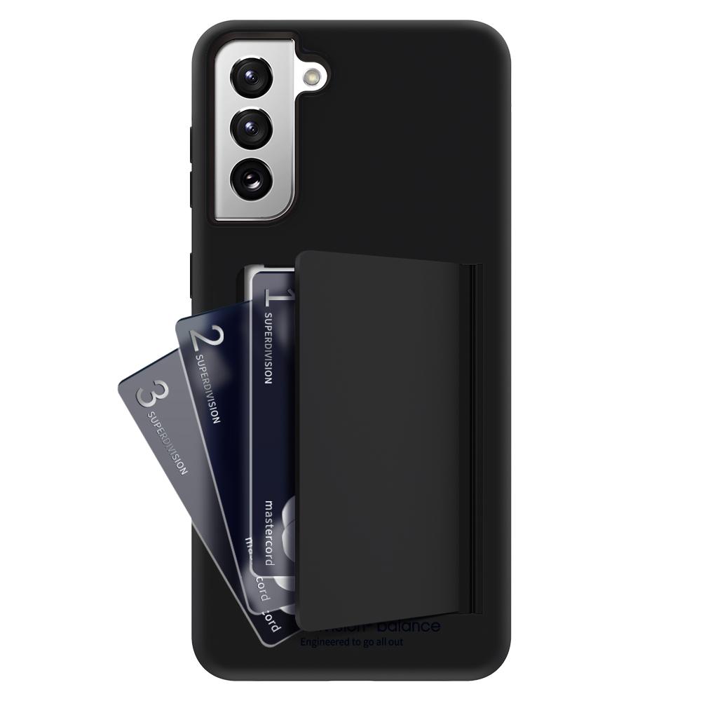 슈퍼디비전 밸런스 카드 범퍼 하드 핸드폰 케이스