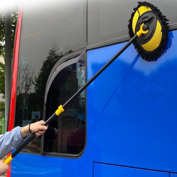 3s 차량용 세차밀대 G타입 셔링재질 LONG 화물차 버스 세차용품