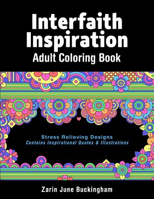 Interfaith Inspiration: Adult coloring book Paperback, Cambridge International Assoc., Inc.