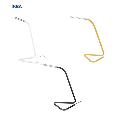 이케아 호르테 LED 스탠드 [이케아정품], 블랙