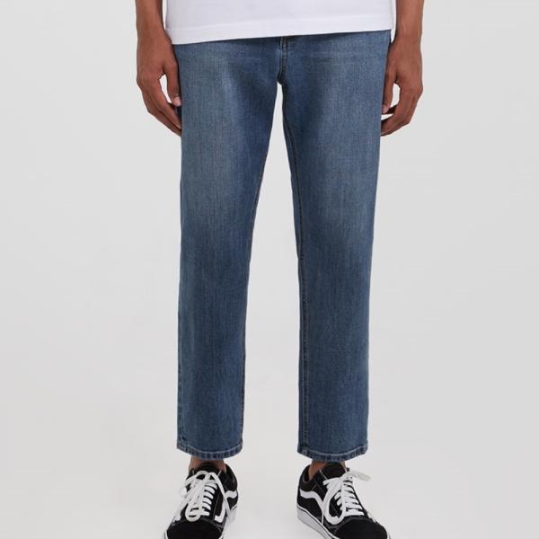 어드바이저리 Crop Tapered Denim Pants - Indigo