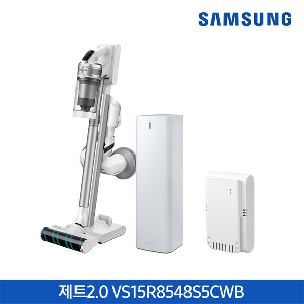 삼성전자 (더블배터리)삼성 청소기 제트2.0 청정스테이션 VS15R8548S5CWB, 기타, 단일상품