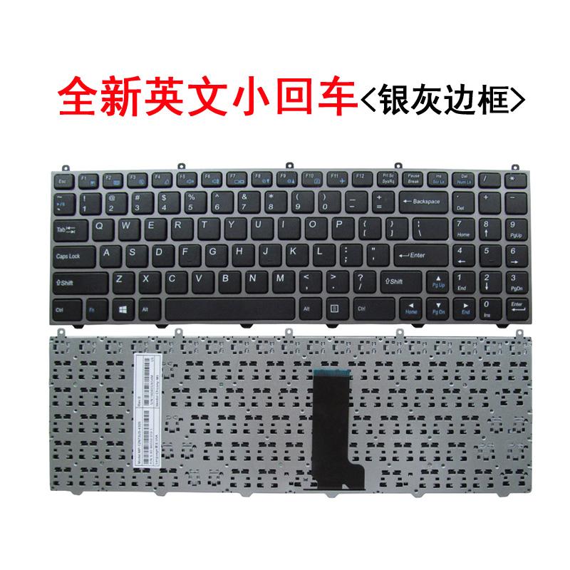 선저우전신 K4 폴라로이드 키보드 CW65LD03K660EG3D 2, 영문 키보드 <실버 테두리 테 소회, 정부측 표기함