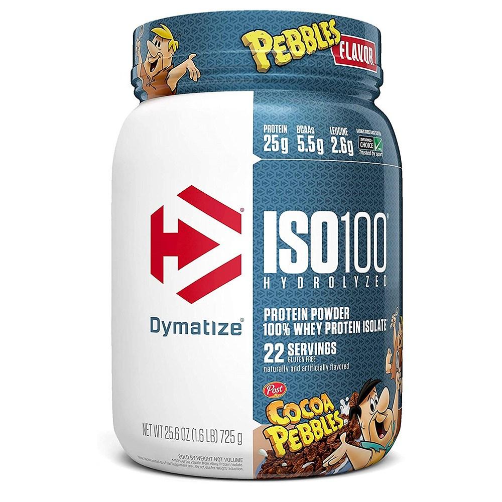 Dymatize 다이마타이즈 코코아 웨이 프로틴 ISO100 Whey Protein Cocoa Pebbles 725g, 1개, 1