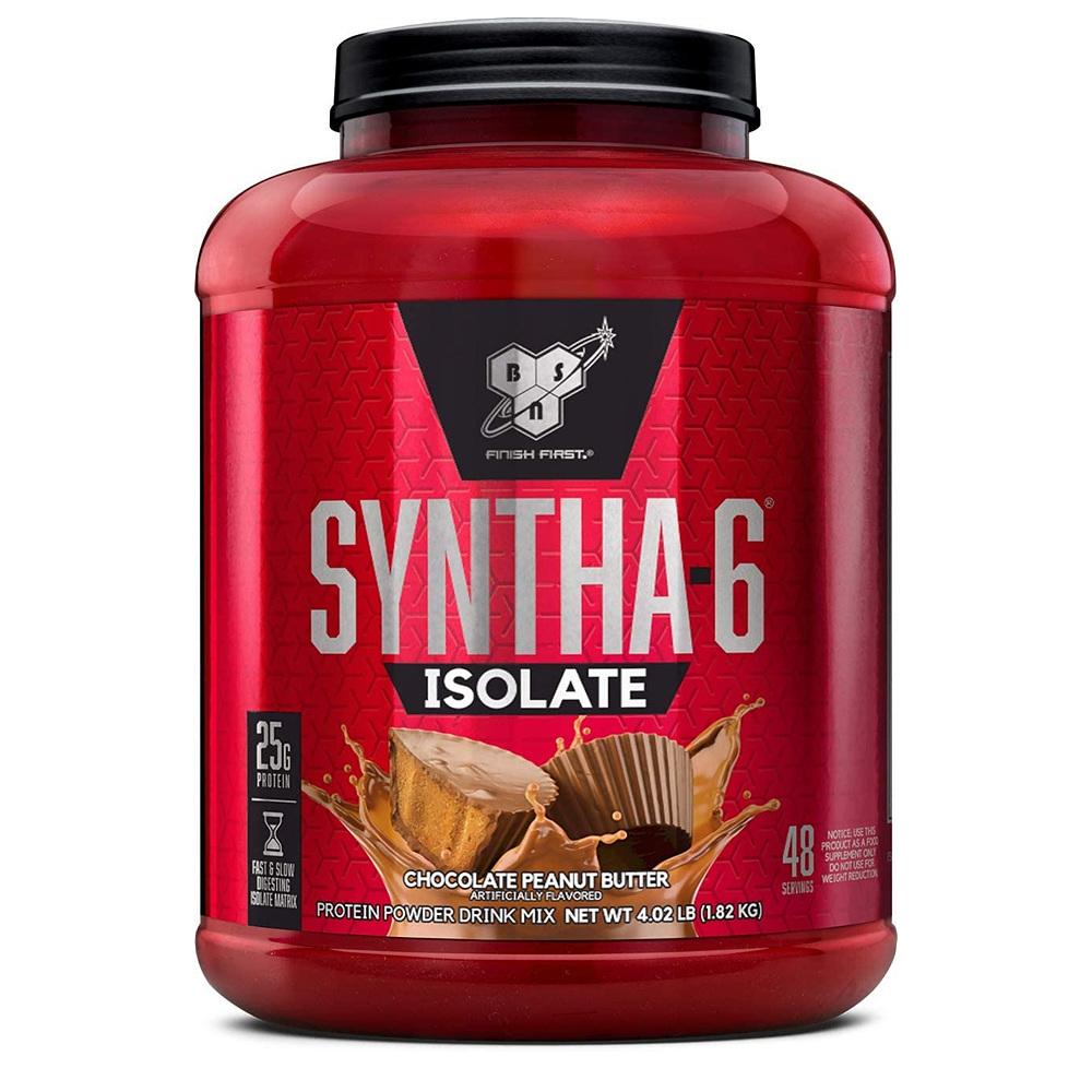 신타6 BSN SYNTHA-6 아이솔레이트 프로틴 파우더 초콜릿 땅콩 버터 1820g 운동전 보충제