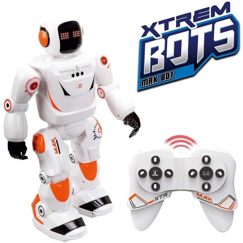 [독일] Xtrem 봇 MAX BOT 인공 지능 원격 제어 로봇 지능형 로봇 라디오 제어 어린이 장난감 (1)