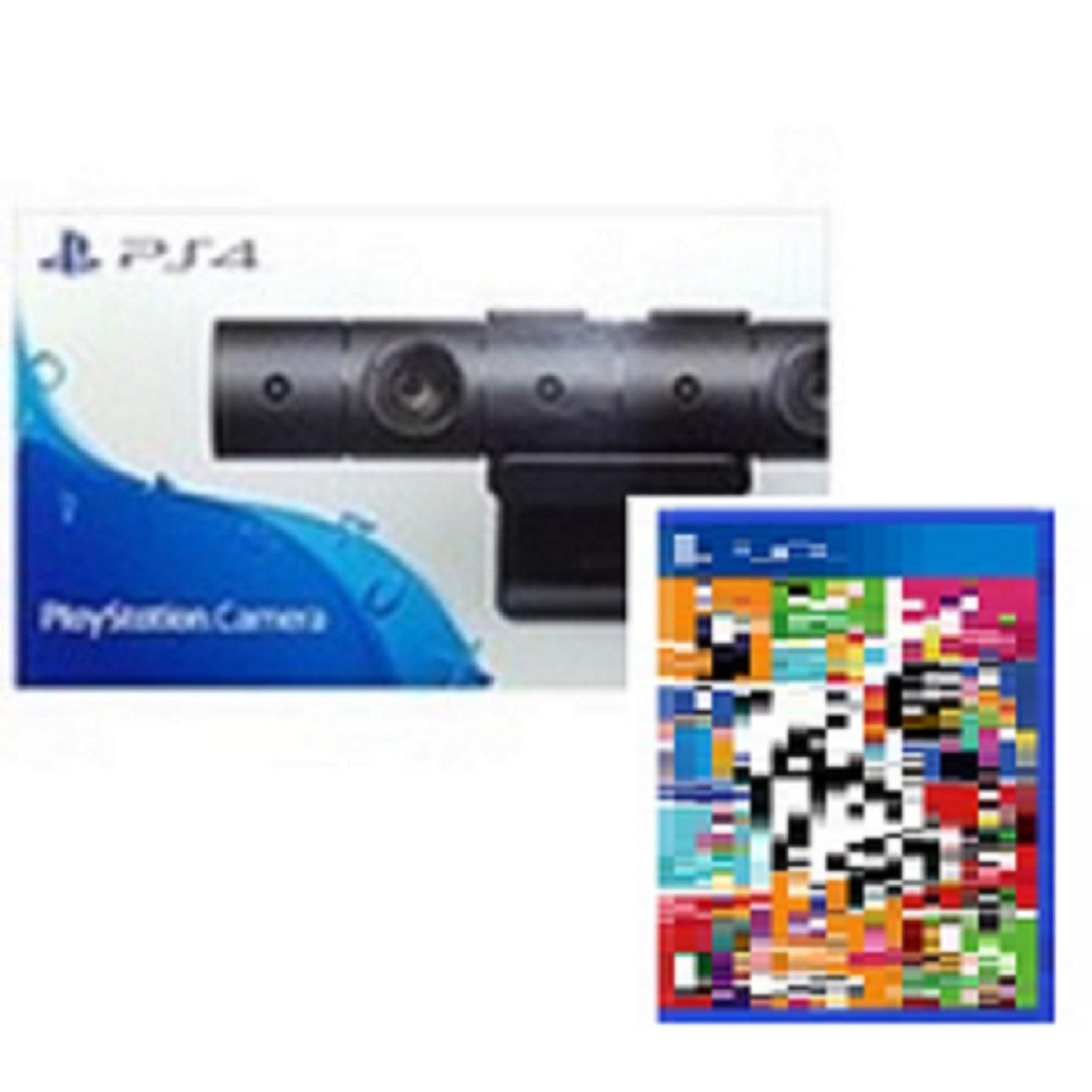 PS4 카메라 새제품 + 저스트댄스 2021 한글판 새제품